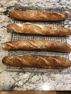Straight Method Baguette - a good starter baguette to practice on Artisan Bread Recipes, Best Starters, Serbian Recipes, Bread Baking, Hot Dog Buns, Baguette, Baked Goods, Yummy Food, Homemade