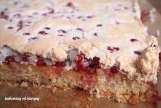 Laskominy od Maryny: Rybízový koláč s bezé