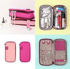 Weekade Beauty Pouch V.2 - Travel Jewelry Organizer Cosmetics Pouch Makeup Bag
