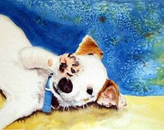 Etsy の Jack Russell Terrier by ArchiveArrow