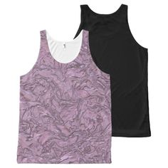 plaster pink (I) All-Over Print Tank Top Tank Tops