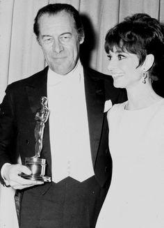 1964 Rex Harrison and Audrey Hepburn