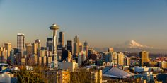 Great view of Seattle from Kerry Park on Queen Anne Hill