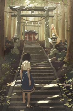 A selection of the stunning illustrations by American artist Kevin Hong, based in New York. Very inspired by manga, anime, video games and pop culture but als