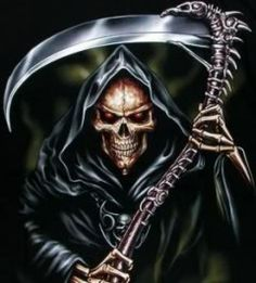 666 Grim Reaper Heavy Metal | love metal love role play dampd dm spar t1 trained