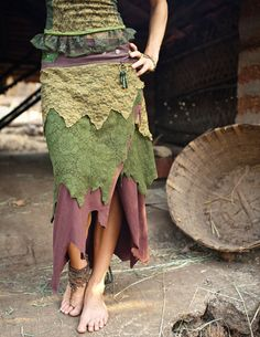 Long Pixie skirt  many colors availible by TimjanDesign on Etsy, kr850.00