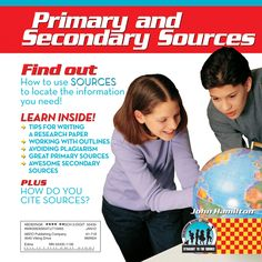 Worksheets Primary And Secondary Sources Puzzle 1000 images about primary sources on pinterest discusses the process of writing a research paper and difference between secondary source