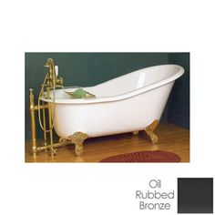 Found it at Wayfair 535 x 295 Claw Foot Slipper Bathtub