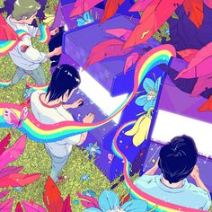 Colorful Illustrations by Goni Montes
