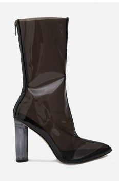 Robyn Clear Ankle Boots