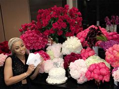 Rob Kardashian Gifts Blac Chyna 28 Bouquets of Flowers – with 28 Cards! – for Her Birthday| People Scoop, Birthday, TV News, Blac Chyna, Rob...