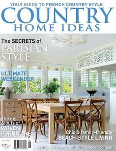 Vol 13: No 12 | Country Home Ideas | The Country Lifestyle Magazine