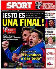 Portada Sport 28/1/2015