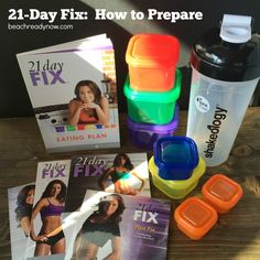 21 Day Fix: How to Prepare #21DayFix #BeachReadyNow #Fitness Good overview video at end of post by Christine Dwyer