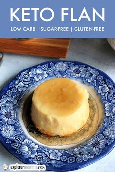Keto flan, or low carb crème caramel, is the best delicious keto dessert or snack. Perfectly cooked custard and sugar-free caramel topping for a special occasion or any day. Kinds Of Desserts, Low Carb Desserts, Low Carb Recipes, Unsweetened Almond Milk, Flan, Low Carb Keto, Sugar Free, Delicious Desserts, Sweet Tooth
