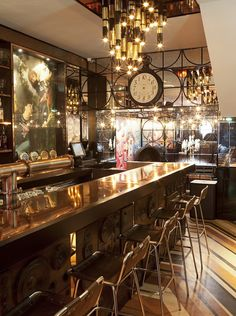 """Singapore's """"83 on Club Street,"""" a collaboration """"between designers The Stripe Collective and hospitality group Deliciae."""""""