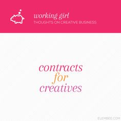 Contracts for creatives // Elembee.com