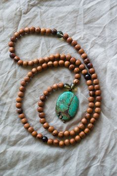 Bayong wood mala beads, basically the rosary of meditation. These are beautiful.
