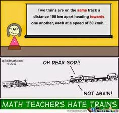 Maths and trains
