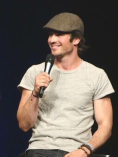 Ian Somerhalder - BloodyNightCon Europe - Brussels, Belgium - 11/05/14