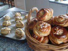 Vähän helvetin hyvä pulla - Resepti | Kotikokki.net Pancakes, Muffin, Breakfast, Food, Morning Coffee, Essen, Pancake, Muffins, Meals