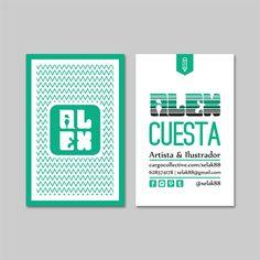 ALEX CUESTA | Bussines Card     © Alex Cuesta 2014     #identity #brand