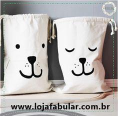 Sacos de Armazenamento na www.lojafabular.com.br
