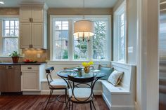 Built-in Breakfast Nook - traditional - Kitchen - Dc Metro - Tradition Homes
