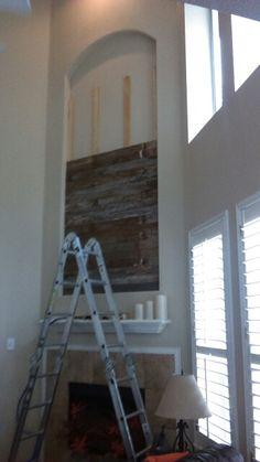 Sparta Decor, Furniture, Wood, Barnwood Wall, Barn Wood, Wall, Home Decor, Mirror