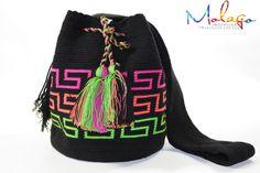 Mochila Wayuu - Multicolor Bag - 00218