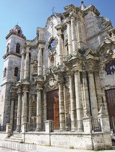 Havana's eighteenth-century Catedral de San Cristóbal. Featured in the Summer 2015 issue of MILIEU.