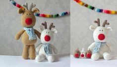 This adorable Crochet Reindeer pattern by designer KornflakeStew is great for beginner crocheters. Fitting right in with the Christmas theme, this crochet reindeer toy pattern is easy to make with step by step instructions. The Stylecraft Special Chunky wool in Camel (1420) and White(1001) will give you a super soft Reindeer toy, perfect for the winter season