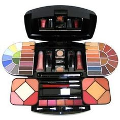 Beauty Revolution Makeup Kit, 32 Ounce by SHANY Cosmetics. $39.99. 9 Lip Glosses. 1 mascara, 1 lip pencil, 1 eye pencil. 34 eyeshadow colors. 8 Blush Colors. Once you have this kit, you no longer have to carry around a big, heavy makeup bag with you. All you need is in one small kit that you can take with you -everywhere. Included is 34 colors of eyeshadow, 5 different popular shades of lip color, 2 lip glosse