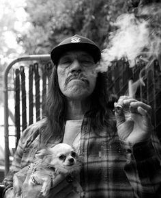 dog photography Black and White movies movie photo smoke artist hollywood tatto…