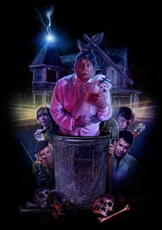 The 'Burbs (1989) | Poster art by Paul Shipper The Burbs Movie, The 'burbs, Movie Poster Art, Classic Films, Photo Wall, Retro, Movies, Painting, Fictional Characters