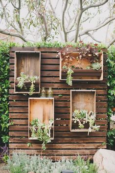 13 Breathtaking Feature Walls for Your Wedding Decor via Brit + Co