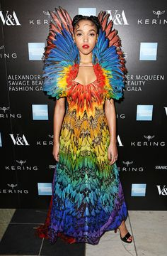 FKA Twigs at the Opening Night Gala of Alexander McQueen, Savage Beauty