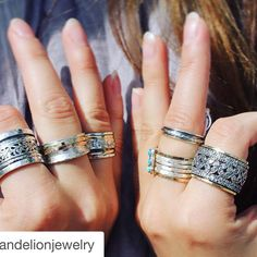 MeditationRings living the Zen life! Meditation Rings, Razzle Dazzle, Spin, Fashion Beauty, Jewelry Design, Retail, Silver Rings, Tutorials, Jewels