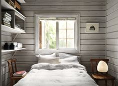 Charming Norwegian-style Log Cabin Packed with Iconic Design Pieces - Nordic Design Cabin Design, Nordic Design, House Design, Design Design, Cottage In The Woods, Cabins In The Woods, Cozy Cottage, Design Furniture, Plywood Furniture