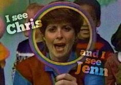 Romper Room! I always wanted to hear my name but never did...I was always waving saying here I am and sad that she didn't see me.