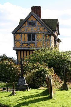 Stokesay Castle is a fortified manor house in Stokesay, Shropshire, England. It was built in the late 13th century by Laurence of Ludlow, then the leading wool merchant in England.