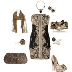 Polyvore - mandevilla :D  Nice holiday night out!