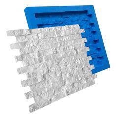 forma de silicone para placa gesso canjiquinha filetinho