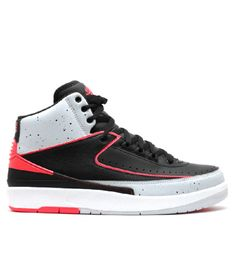 new arrival f3aee 303c2 Air Jordan 2 Retro Black Infrared 23 Pro Platnm White