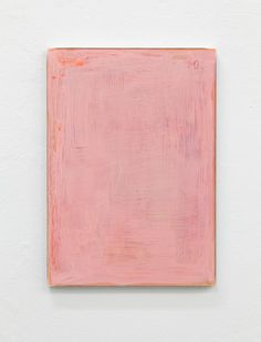 Pink painting. Just pink, that's all.