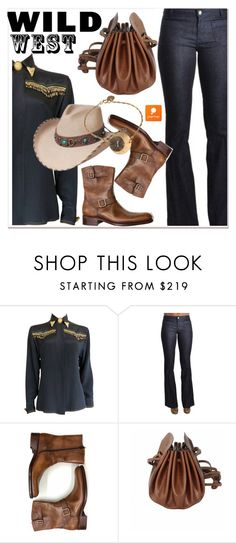 """""""Wild West Style"""" by paculi ❤ liked on Polyvore featuring Versace, Spring, wildwest and popmap"""