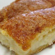 This recipe has been around the world and back. It is a wonderful dessert to top off that Mexican meal. Everybody loves it! Had to share just in case you have eaten it but didn't have the recipe to try it for yourself. :) It makes a great breakfast too!