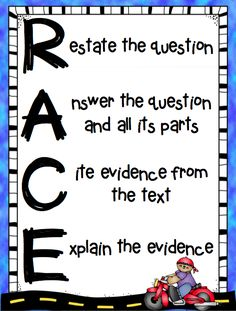 Part of the Common Core requires that students answer text dependent questions by citing evidence from the text and explaining their evidence. Description from pinterest.com. I searched for this on bing.com/images