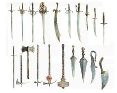 Assassin's Creed II - Weapons Set