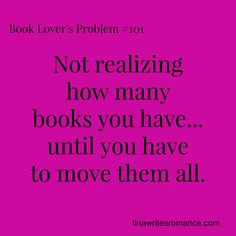 How many books you have...